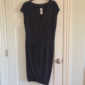 Natori Black Cocktail Dress NWT